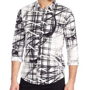 Calvin Klein Energetic Print Button down shirt